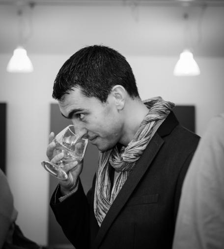 David Florac, maître de chai de la maison Augier